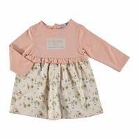 Soft Forest Theme Baby Girl Dress