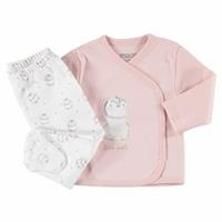 Penguin Theme Baby Bodysuit Footed Trouser Set