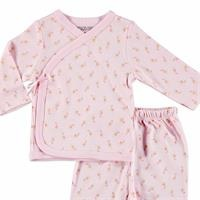 Little Flowers Baby Snaps Bodysuits Footed Trousers 2 pcs Set