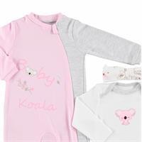 Koala Baby Romper Bodysuit Headband Set 3 pcs