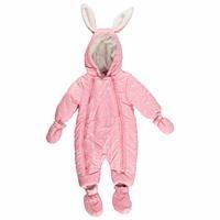 Baby Girl Rabbit-Eared Water Repellent Astronaut