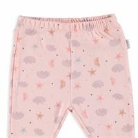 Sleeping Star Organic Baby Footed Trousers