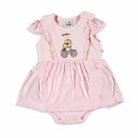 Pretty Embroidered Baby Girl Dress Bodysuit