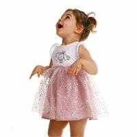 Texture Baby Girl Dress