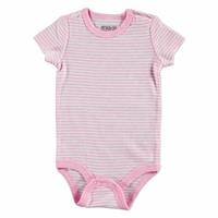 Baby Girl Logo Colored Rope Strap Bodysuit