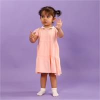 Little Birds Baby Girl Collared Dress