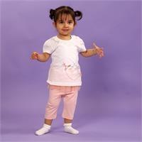 Little Birds Baby Girl Tshirt Leggings Set