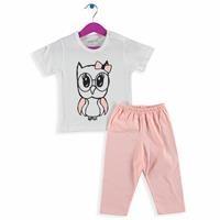 Bebek Kısa Kollu Pijama Takımı