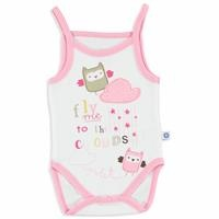 Summer Baby Girl Friends Rope Strap Bodysuit