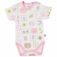 Summer Baby Girl Friends Short Sleeve Bodysuit