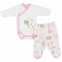 Friends Baby Girl Bodysuits Trousers Set