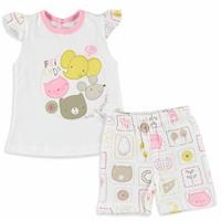 Friends Baby Girl Athelete Short Set