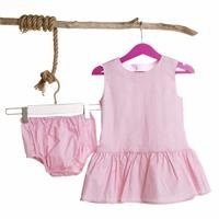 Sleeveless Baby Girl Dress