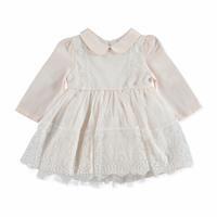 Winter Lace Long Sleeve Baby Dress