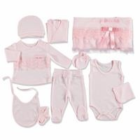 Bow Cotton Newborn Hospital Pack 10 pcs