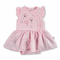 Summer Baby Girl Rosebud Supreme Crew-Neck Dress Bodysuit