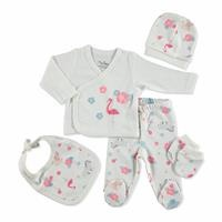 Pink Flamingo Newborn Hospital Pack 5 pcs
