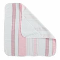 Cotton Baby Towel Pink Striped