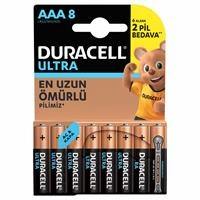 Turbomax Alkaline AAA Battery 6+2 Pieces