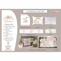 Baby Unicorn Travel Cot Bed Sleep Cover 5 pcs Set