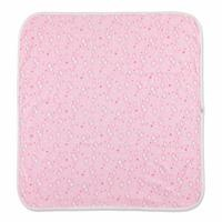 Pink Cloud Patterned Multipurpose Baby Blanket