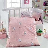 Baby Rabbit Patterned Duvet Cover Set