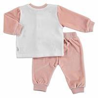 Unicorn Snaps Velvet Baby Pyjamas Set
