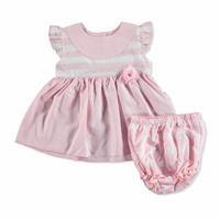 Bebek Çizgili-Kareli Gömlek-Şort