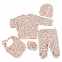 Colorful Flower Newborn Hospital Pack 5 pcs