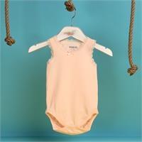 Yaz Kız Bebek Dantelli Süprem Atlet Zarf Yaka Tek Body