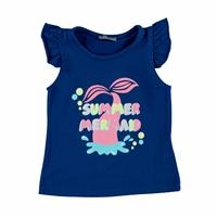 Summer Mermaid Supreme Baby Tshirt