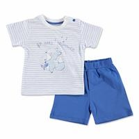 Summer Baby Boy Thumbs Up Music T-shirt Short Set