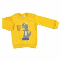 Printed Basic Baby Long Sleeve Sweatshirt