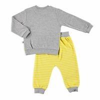 Bebek Sevimli Maymun Sweatshirt Alt 2li Takım