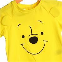 Winnie The Pooh Lisanslı Kulaklı Kısa Kol T