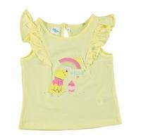 Baby Girl Winnie The Pooh Shoulder Detailed Tshirt