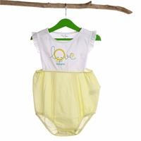 Love Baby Girl Ruffled Bodysuit