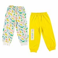 Baby Boy Dino Footless Trousers 2 Pack