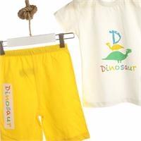 Bebek Baby Dinozor Pijama Takımı