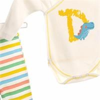 Dino Baby Bodysuits Trousers Set