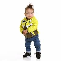 Baby Boy Monster Water Repellent Children Raincoat