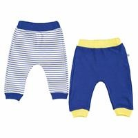 Striped Baby Boy Footless Trousers 2 Pack