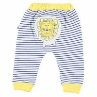 Striped Baby Boy Figures Footless Trousers
