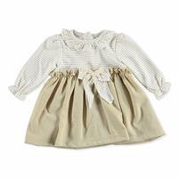 Kış Fiyonklu Bebek Elbise