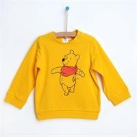 Winnie The Pooh Sarı Sweatshirt