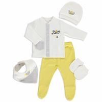 Yellow Sheep Newborn Hospital Pack 5 pcs