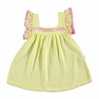 Summer Baby Girl Zigzag Dress