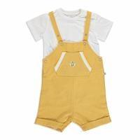 Summer Baby Boy Pocket Detail T-shirt Jumpsuit Set