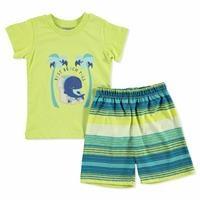 Summer Baby Boy Whale Supreme Short Sleeve T-shirt Short 2 pcs Set