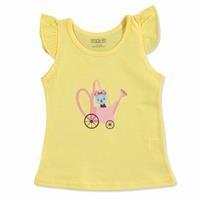 Summer Baby Girl Ruffled T-shirt